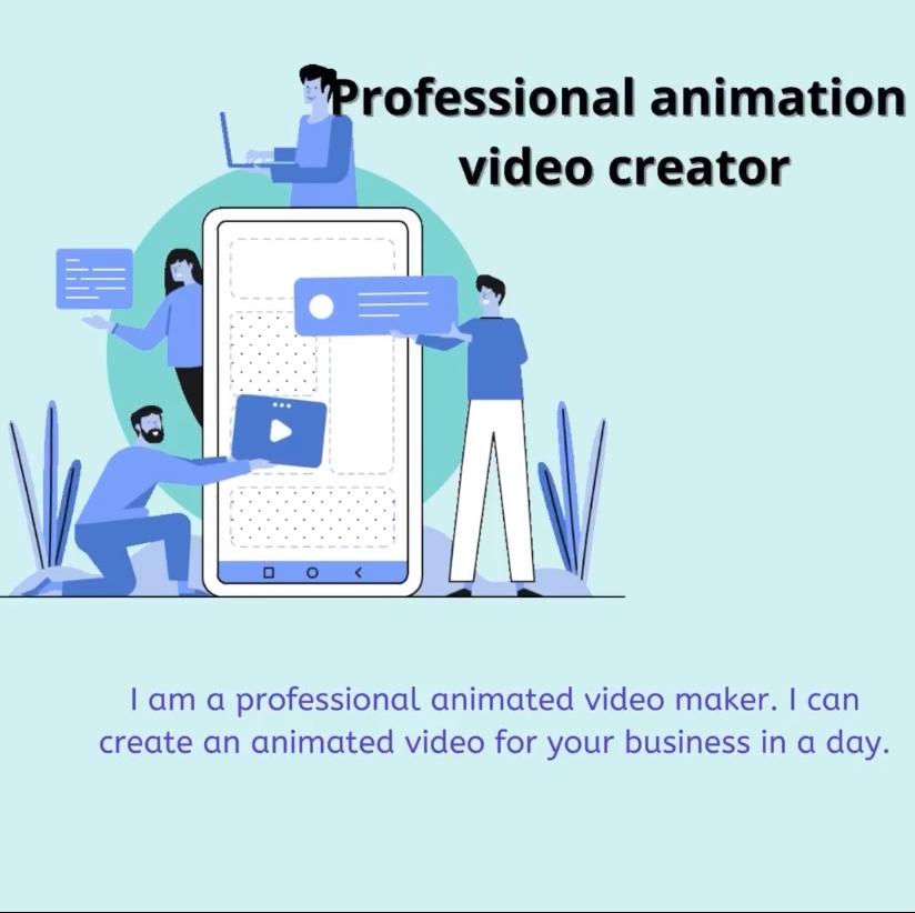 Professional animation video creator
