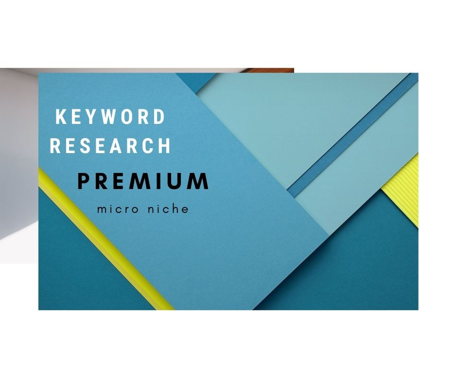 I will do long tail SEO keyword research and competitor analysis