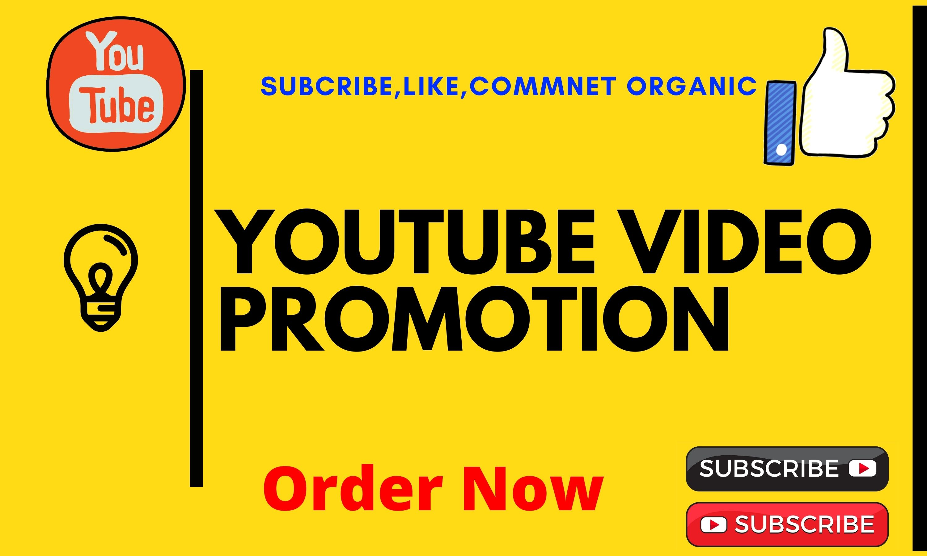 I will do organic youtube video promotion for viral video promotion