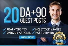 I will Publish your Guest Posts on high Authority sites with high DA, DR and Do-Follow Backlinks
