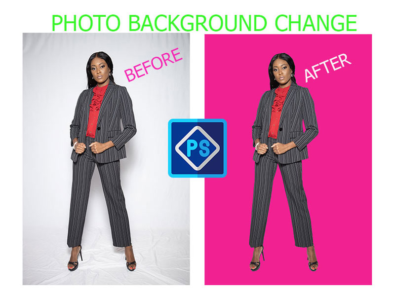 I will do 20 Photos Background Change with photoshop in 24 Hours