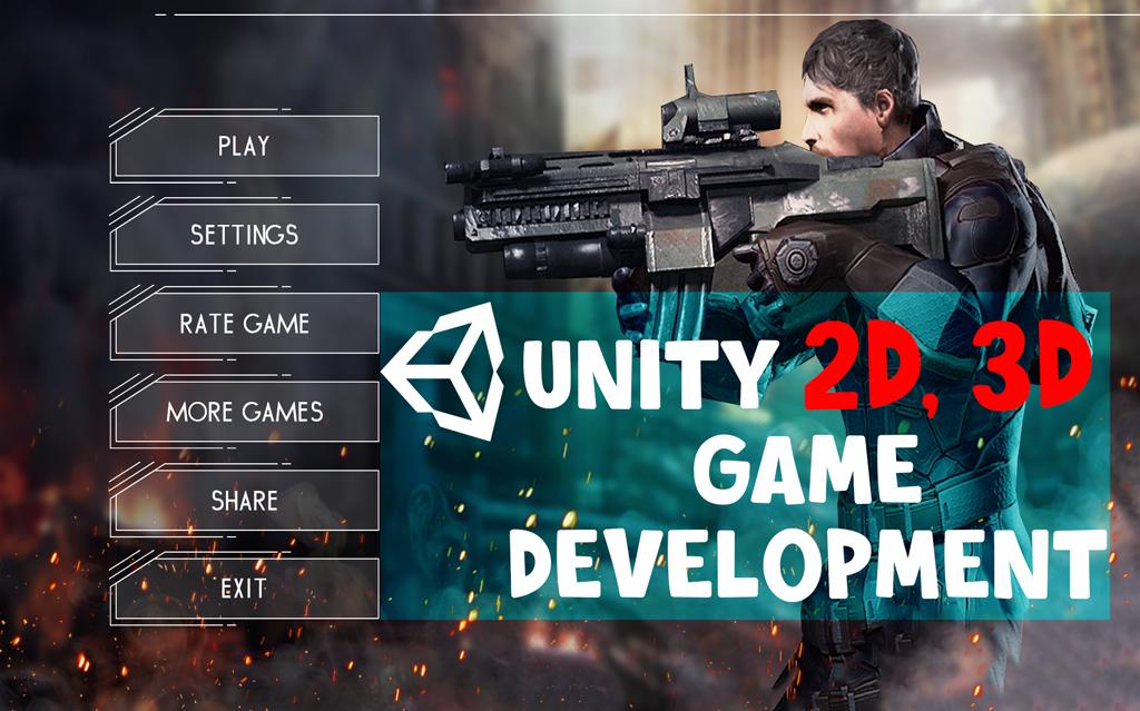 I will develop,  reskin,  modify,  animate unity 2d 3d games