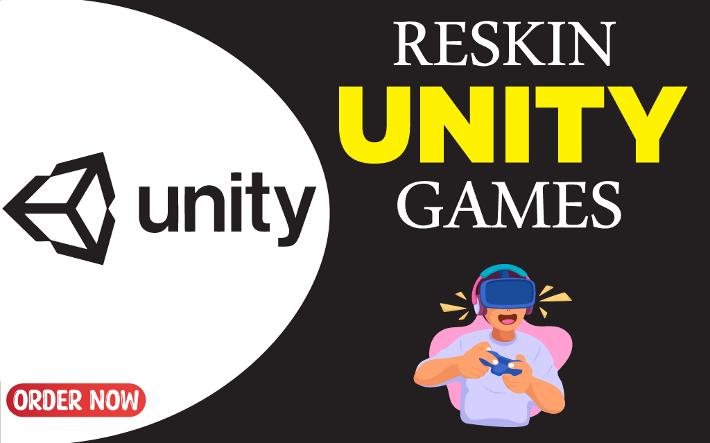 I will reskin,  modify,  develop and integrate assets in unity 2d 3d game