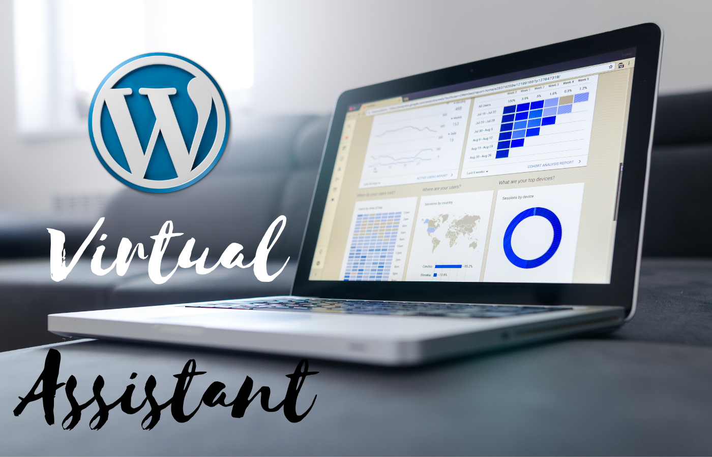 I will be your wordpress virtual assistant for 2 hours