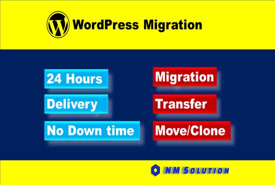 I will do migration transfer your website