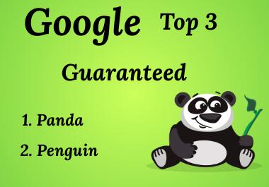 Create google top 3 Guaranteed