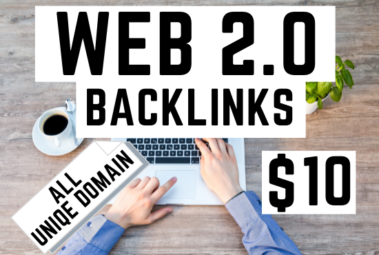 I Will Build 10 Web 2.0 Backlinks for Your Website