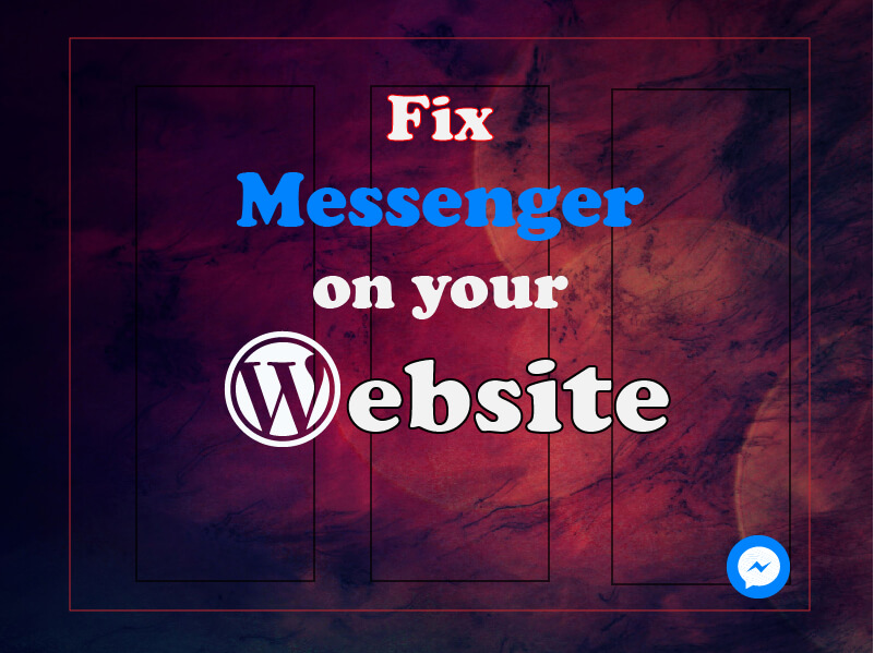 I will fix Facebook Messenger chatroom to your Website