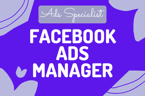 I will do your facebook ads manager
