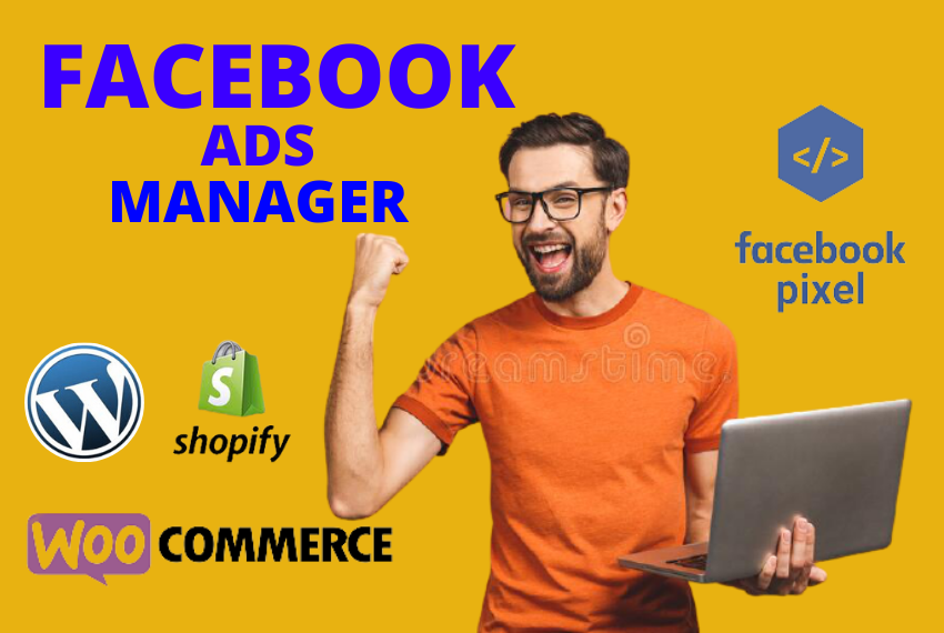 I will be your Facebook ads manager & run a profitable ads campaign