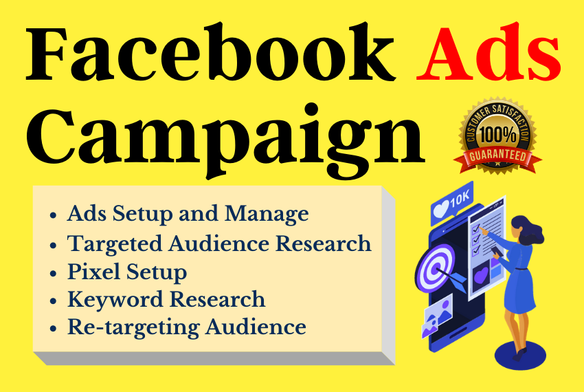I will run and manage facebook ads campaign to grow your business