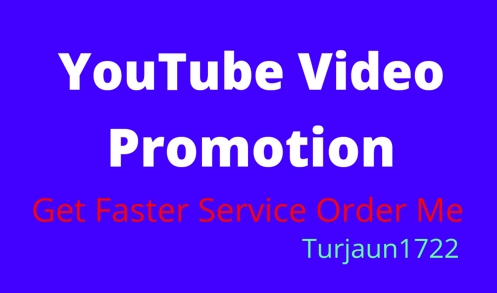 Super Fast original YouTube package promotion by Turjaun1722