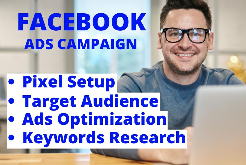 I will setup Facebook ads campaign
