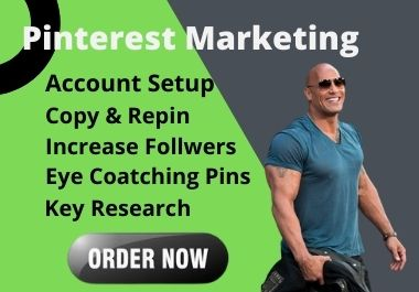I will setup optimizes Pinterest marketing pins and boards
