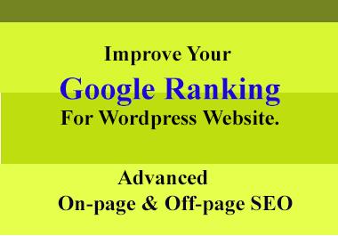 I Will Do Wordpress On-Page SEO Optimization with Yoast