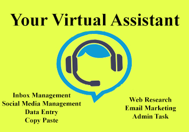 I Will be Your Dependable Administrative Virtual Assistant Monthly