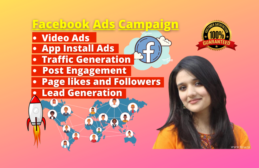 I will setup Facebook ads campaign with your targeted audience