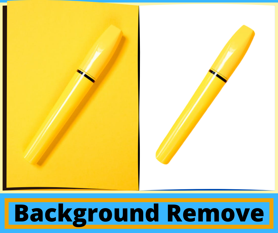 I will remove background for ecommerce