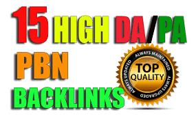 Create 15 High PA/DA TF/CF Homepage PBN Backlinks To Skyrocket you SERP.