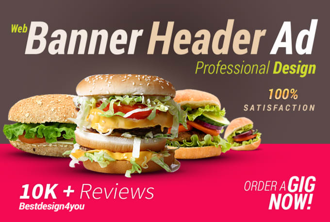I will design web banner, facebook cover page, and static banner