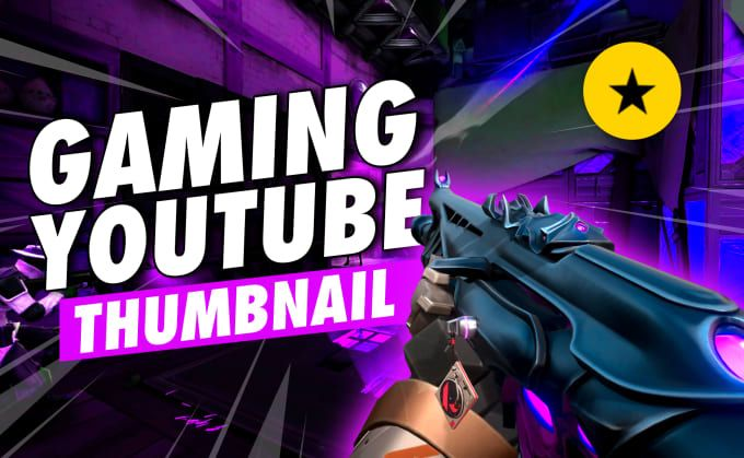 I will design gaming thumbnails and banner for YouTube.