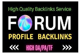 Provide High PR 2000+ Forum & Social backlinks