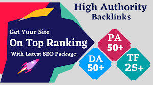 I will make Your Site Into TOP Google Ranking by Quality Backlink Package