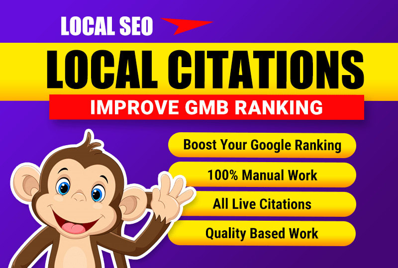 I will do local SEO Business citations manually White Hat