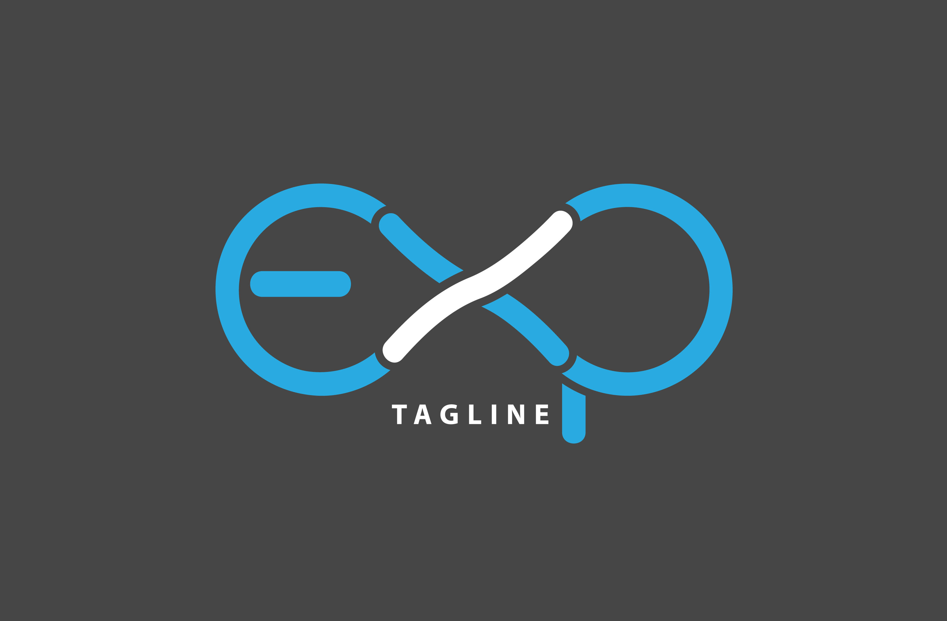 I will create unique modern flat minimalist perfect logo design