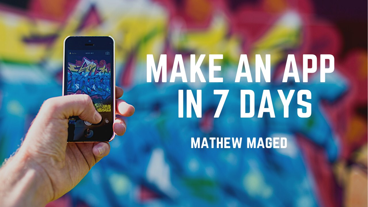 Make an android app easily in 7 days
