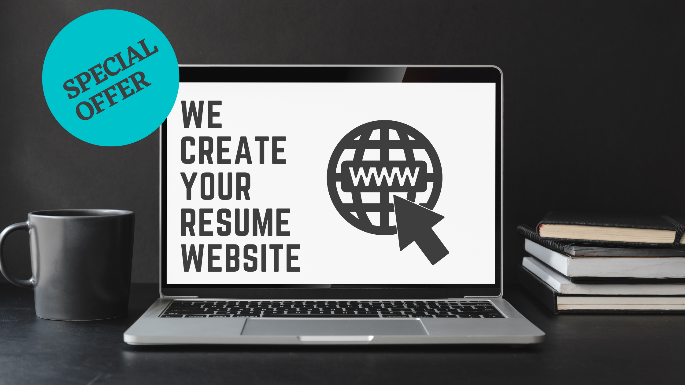 I will create top class resume website for you in 24hr