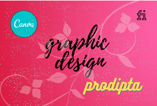 I will design anything in canva for you