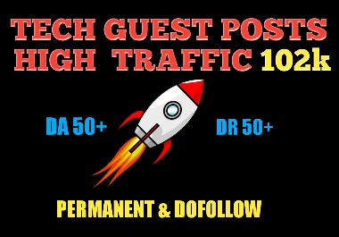Quality guest post on high traffic 102k blog