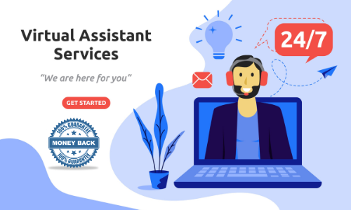 I Will do any type of data entry work or virtual assistant