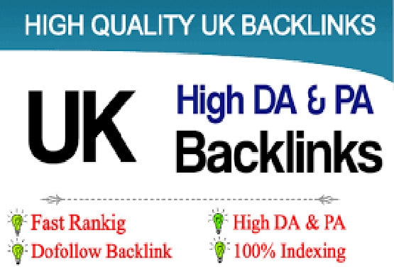 create 20 UK based backlinks with high da and pa sites