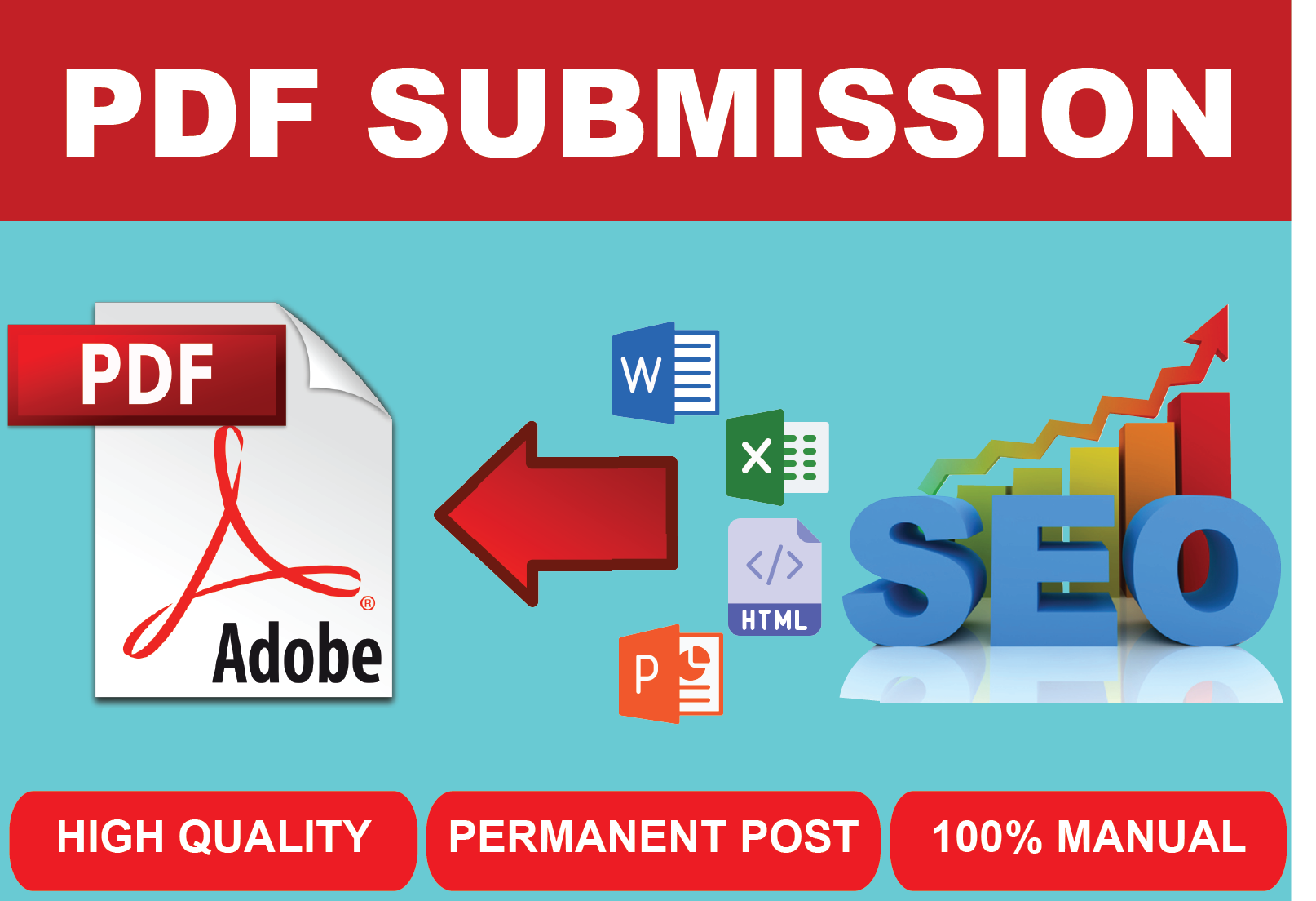 Best 50 PDF submission I Will do Best quality High Quality Backlinks