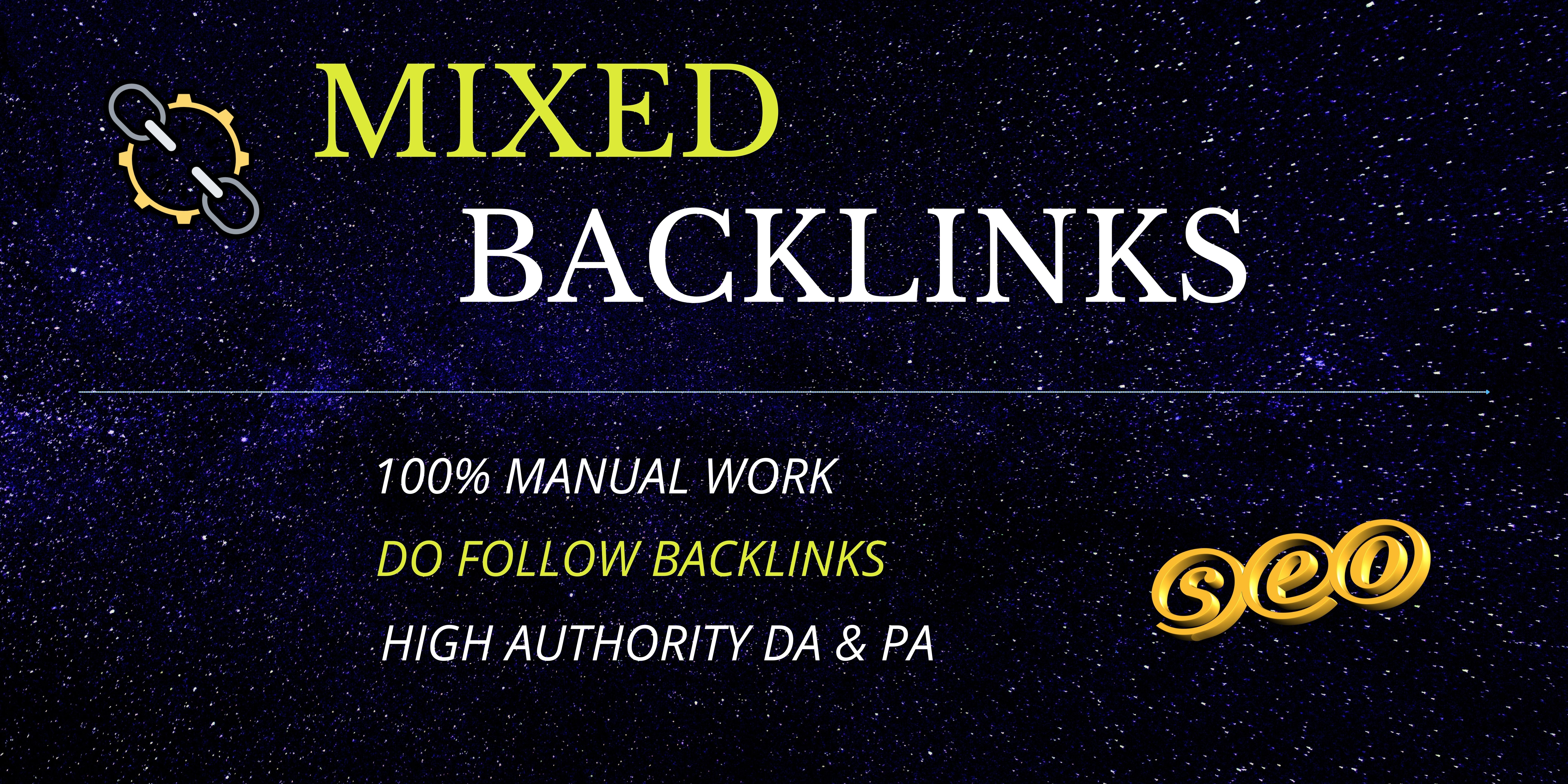 Boost Your Service With High Quality 150 Mixed Backlinks All In One.