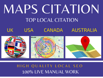Create 200 Google Maps Citation With Local Citations For Rank Your Local Business SEO