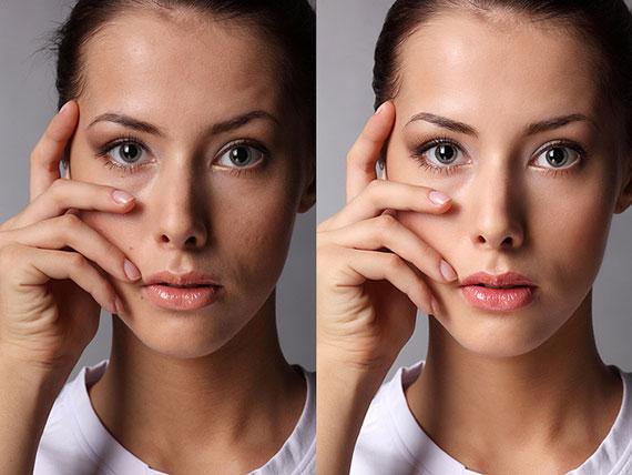 Photo retouching and enhancement