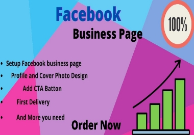 I will create a Facebook business page integration and SEO optimized