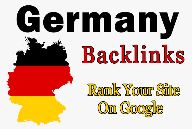 I will 20 permanent German de backlinks from Germany sites