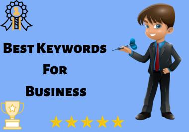 Best Profitable Keywords For Business
