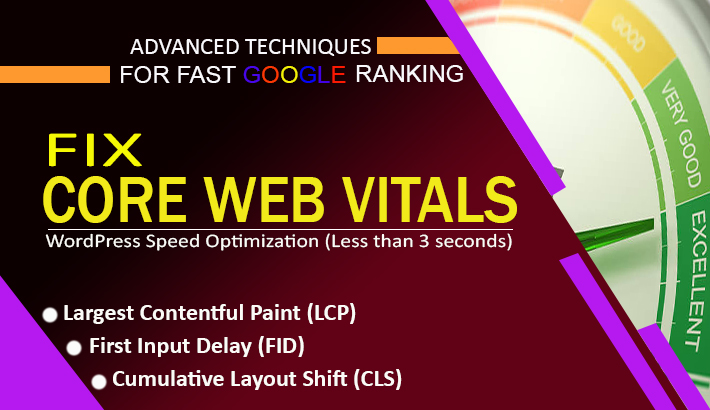 I will diagnose and fix core web vitals to optimize your website