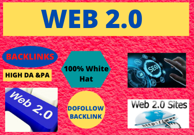 will Create Manually 10 High authority web 2 0 backlinks for Boost SEO Ranking