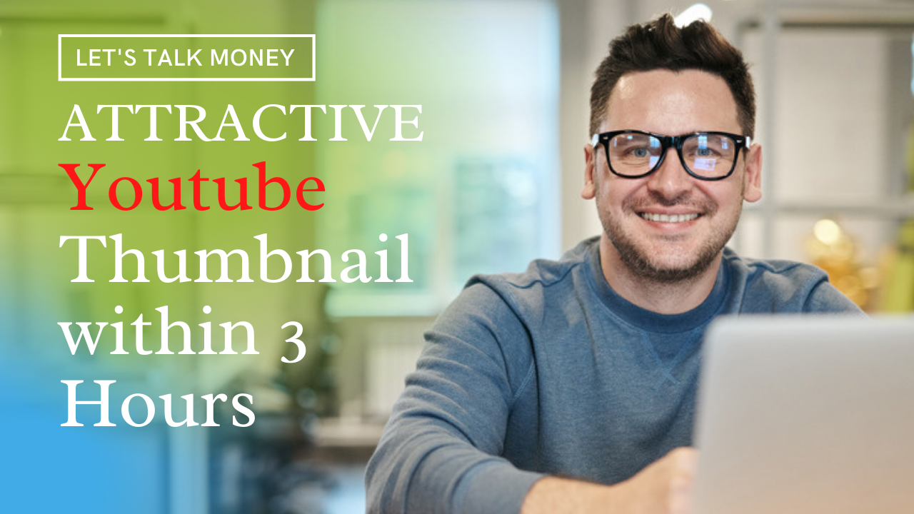 I will design attractive clickbait YouTube thumbnail