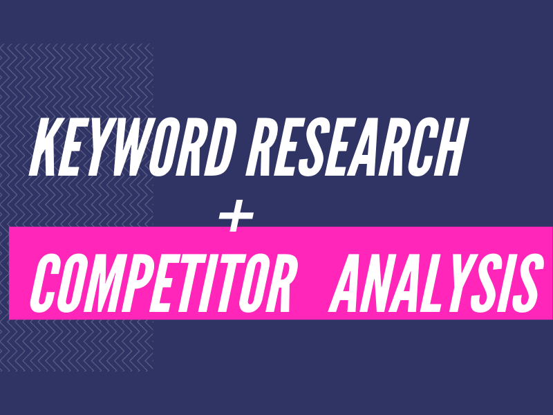 I will do 100 profitable,  kgr,  long tail,  premium and golden keywords + 5 competitor analysis