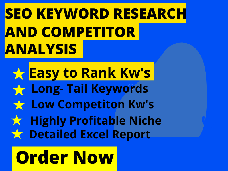 I will do amazing SEO keyword research to rank your site at Top