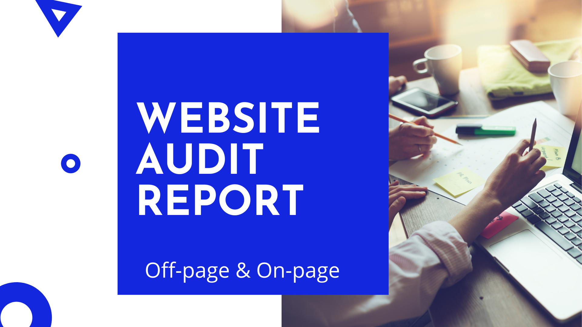 I will provide excel report on professional seo website or site audit and detailed action plan