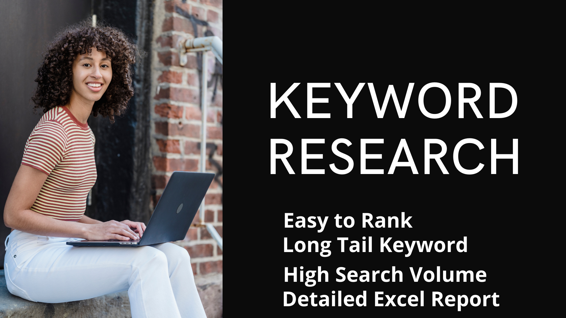 For Google Top Ranking,  I will provide 50 profitable,  kgr,  long tail,  premium and golden keywords