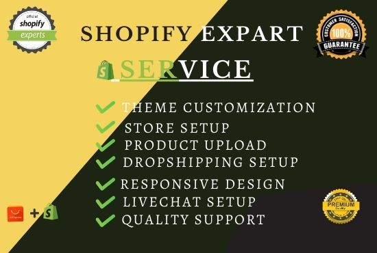 I will do shopify website redesign,  shopify website design,  shift4shop,  shogun,  pagefly